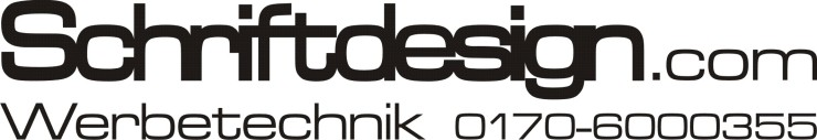 Schriftdesign Logo